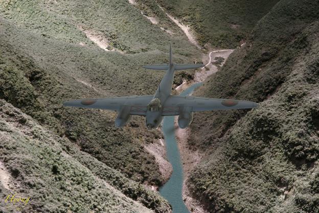 633爆撃隊 偵察任務