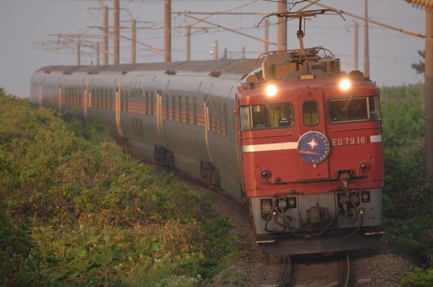 ED79-18 カシオペア 江差線 釜谷-渡島当別