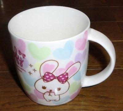 Photos: ファミリーマートオリジナル うさぎのモフィマグカップ