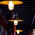 Photos: レストランのランプ♪
