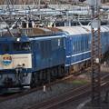 EF64-1051+14系客車尾久車 寝台特急北陸号