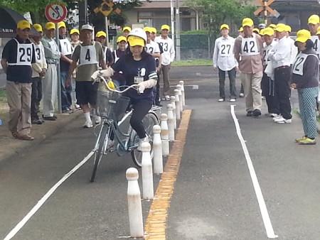 20140628_085204 安城市交通安全きらめき自転車大会