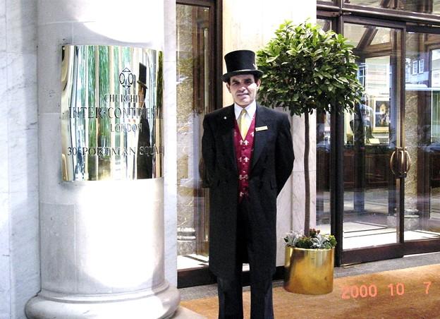 Photos: イギリス ロンドン インターコンチネンタルホテル