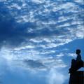 Photos: 少年と雲