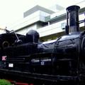 都心と蒸気機関車