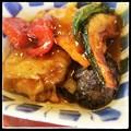 Photos: 夏野菜の黒酢あえ