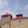 写真: 余市蒸溜所 乾燥棟(キルン塔)2