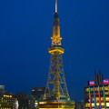 写真: オアシス21から見上げた、イルミネーションが新しくなった名古屋テレビ塔 - 05
