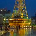 写真: オアシス21から見上げた、イルミネーションが新しくなった名古屋テレビ塔 - 08