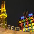 写真: オアシス21から見上げた、イルミネーションが新しくなった名古屋テレビ塔 - 10