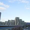 写真: 県営篠岡住宅とスカイステージ33