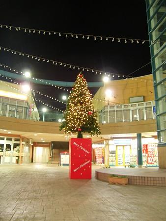 ピエスタのクリスマスツリー_城山1