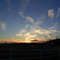 写真: 夕焼けの写真