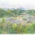 Photos: 20140413阿武山と権現山