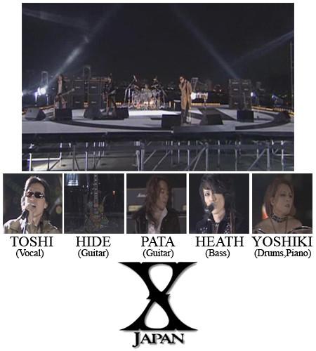 X JAPAN Photograph Collection Vol.1(1)