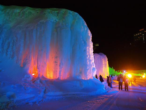 層雲峡_氷瀑祭り0005