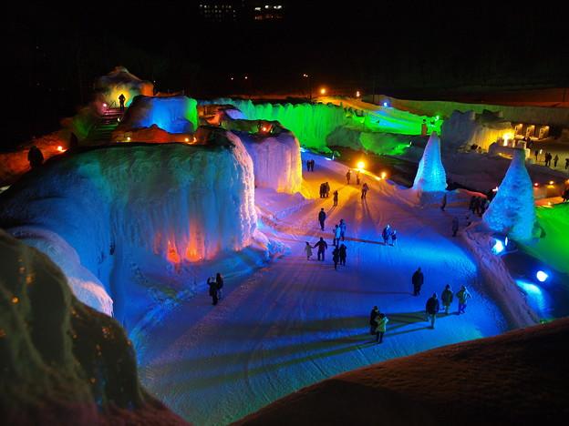 層雲峡_氷瀑祭り0010