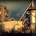 Cement plant.....