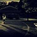 写真: Runners.......