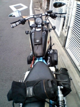 2007_05_03_富士山グルリのひとり走り_02_久々に引っ張り出してやる。さてご機嫌は?
