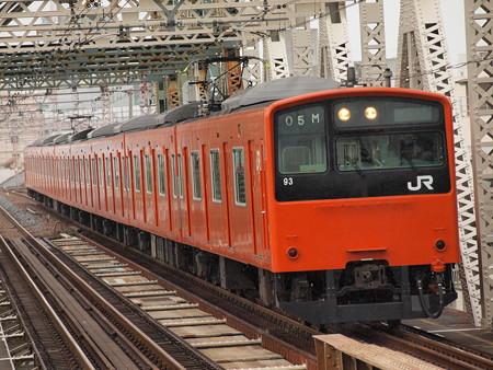 201系普通 大阪環状線大正駅02