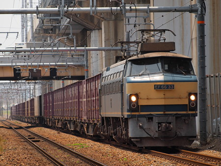 EF66ゼロロク貨物 北方貨物線塚本信号場~吹田操車場