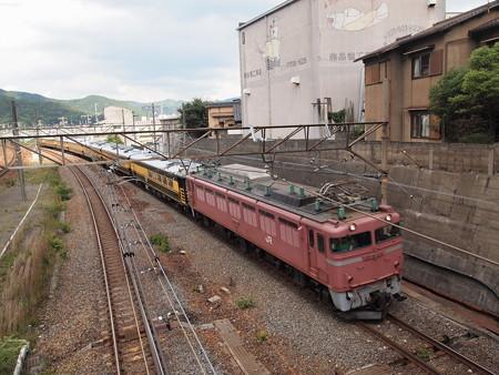 EF81 サロンカーなにわ 東海道本線山科~京都
