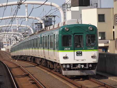 京阪2600系普通 京阪本線寝屋川市駅