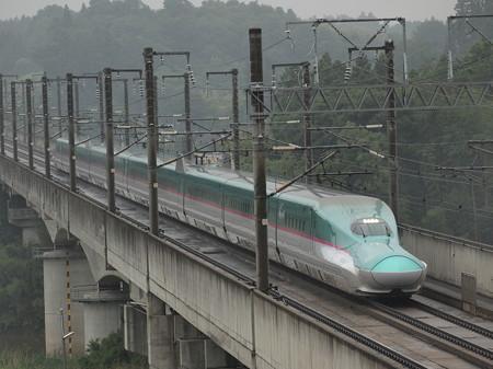E5系はやぶさ 東北新幹線郡山~福島
