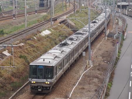 223系新快速   東海道本線塚本~尼崎02