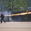 Photos: CIMG7094 大久保駐屯地創立記念行事その6・火炎放射器