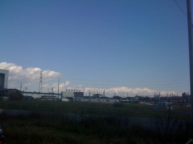 写真: つらなる雲