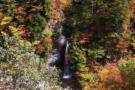 白山スーパー林道 岩底の滝