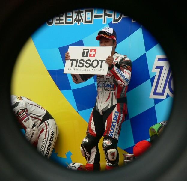写真: 75 2013 12 津田 拓也 ヨシムラスズキレーシングチーム GSX_R1000 P1280023