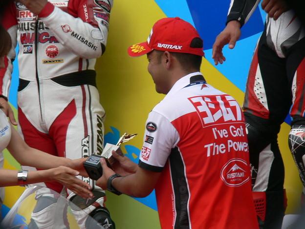 写真: 76 2013 12 津田 拓也 ヨシムラスズキレーシングチーム GSX_R1000 P1280024