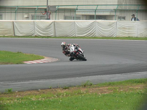 写真: 58 2013 1 中須賀克行 Katsuyuki Nakasuga ヤマハYSPレーシングチーム YZF-R1 全日本ロードレース JSB1000 P1270577