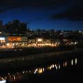 写真: 夏の鴨川夜景