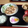 Photos: 身延駅前の食事