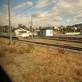 写真: 敷島駅構内