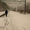 Photos: 土合駅上り線ホーム(土合駅構内)