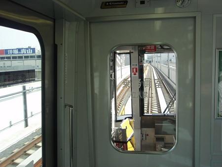 センター南からセンター北間の車窓