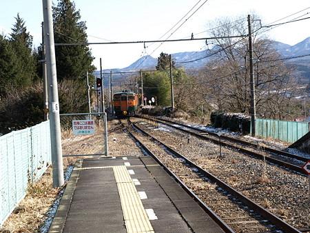 115系吾妻線(岩島駅)