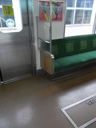 205系横浜線手すり改造車
