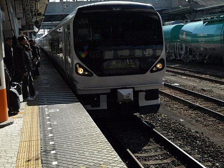 E257系(八王子駅)