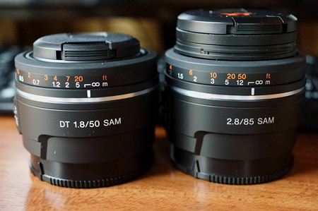DT 50mm F1.8 SAM & 85mm F2.8 SAM