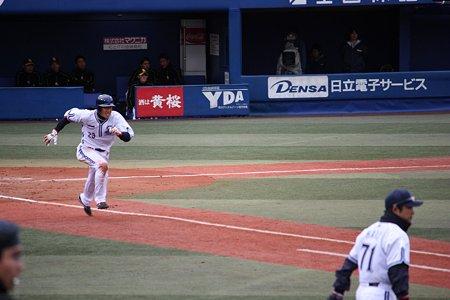 藤田一也 ライト線二塁打