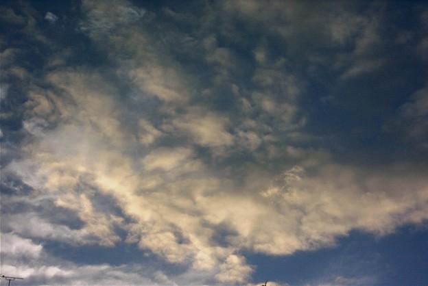 夕方の雲ー1