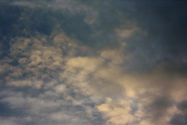 夕方の雲ー3