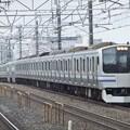 Photos: 横須賀・総武快速線E217系 Y-6編成他15両編成