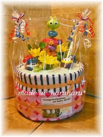 ママたち必見☆可愛いおむつケーキアイデア集♪